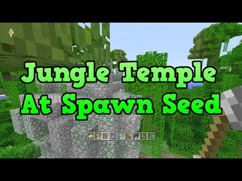 Minecraft Xbox + PS3: Jungle Temple At Spawn, Flatland TU14 Seed