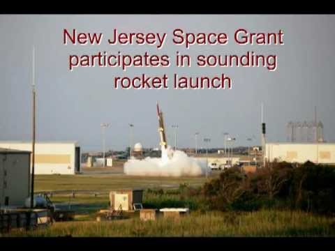 New Jersey Space Grant partakes in sounding rocket launch