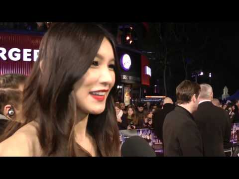 Gemma Chan Interview - Jack Ryan: Shadow Recruit