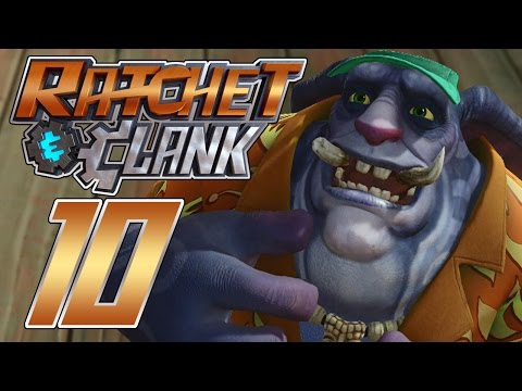 Ratchet & Clank (PS4)[Blind] Part 10 (Ion Cannons & Beach Parties)