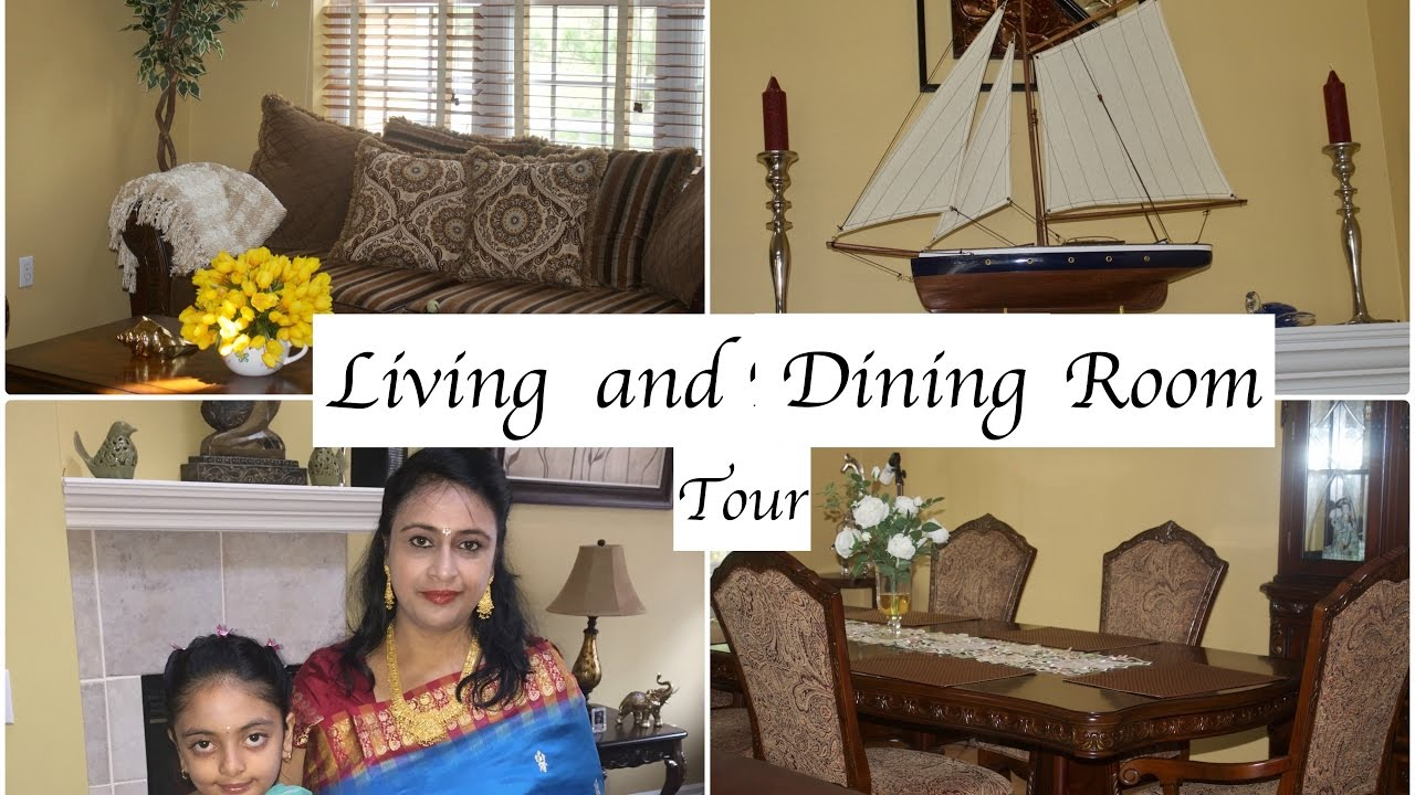 Living And Dining Room Tour Home Tour Decor Ideas