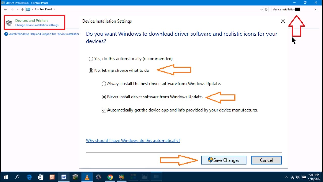 how to turn off windows 10 auto download
