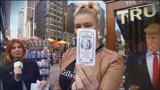 Trump machine in New York City
