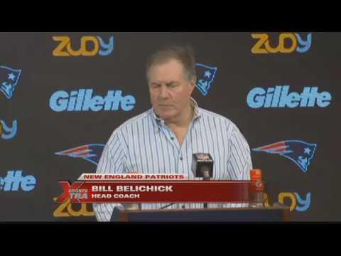 Jason Fielder does Bill Belichick impression live in sportscast