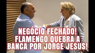BOMBAÇA!!! FLAMENGO QUEBRA A BANCA POR JESUS!!!
