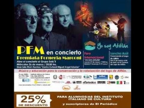 P.F.M. - Live in Guatemala City 2014 - Part 1