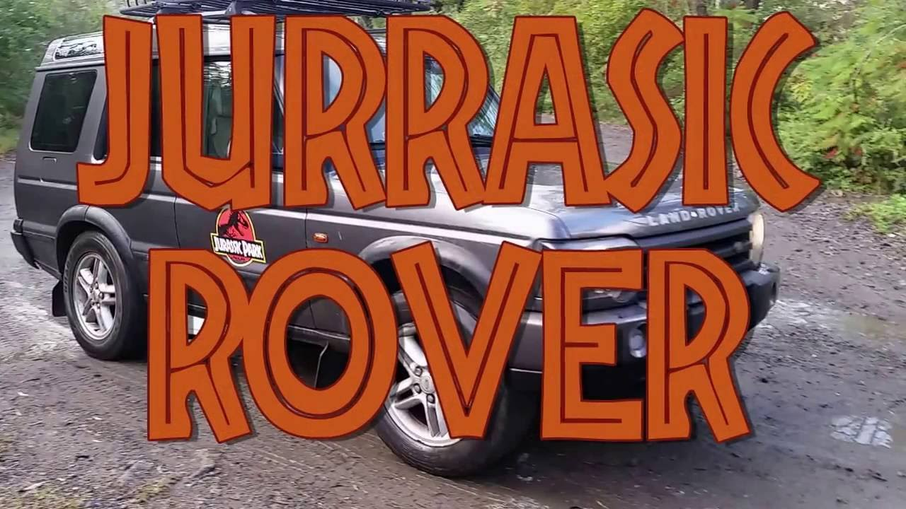 Jurassic Park Theme Land Rover Discovery 2 Uprgrades Off Road Youtube