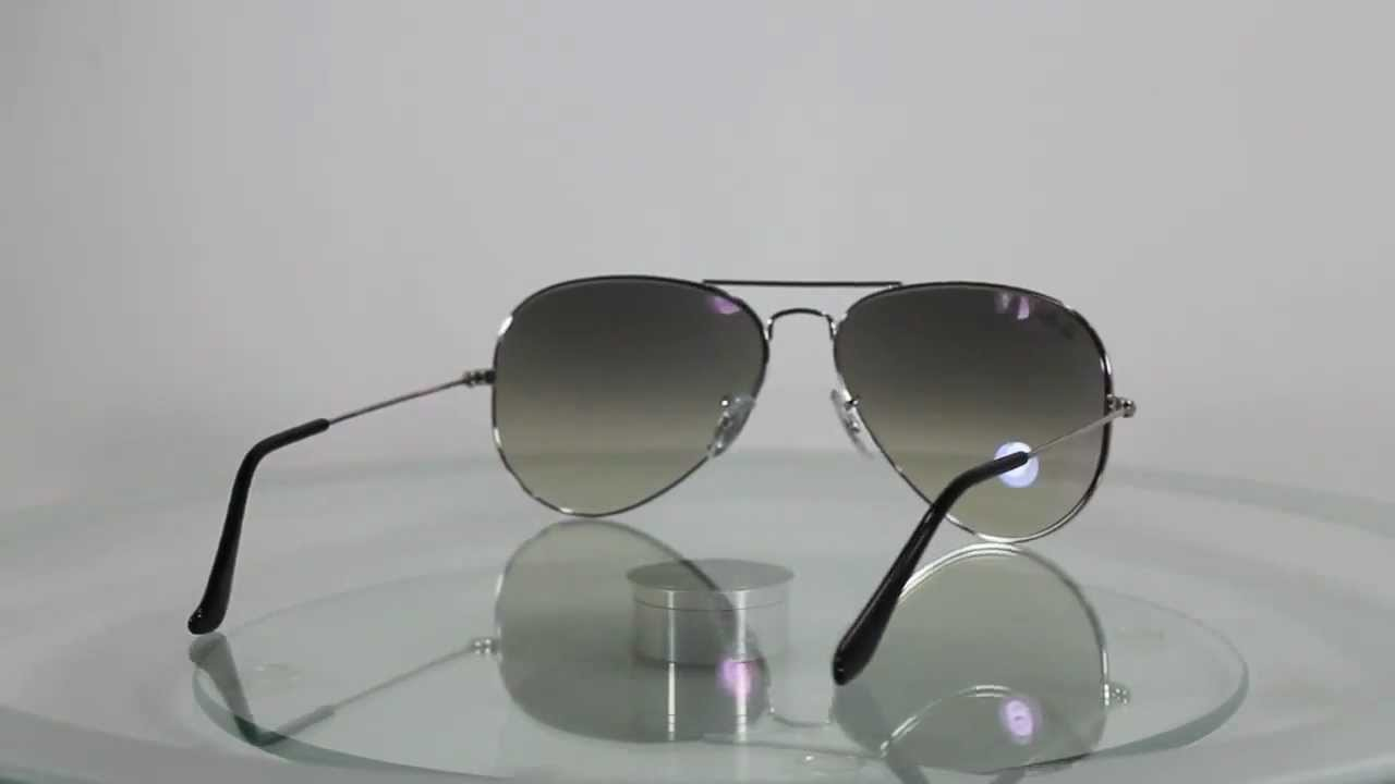 ray ban aviator rb3025 price  Ray-Ban RB3025 003/32 Aviator Large Metal - YouTube