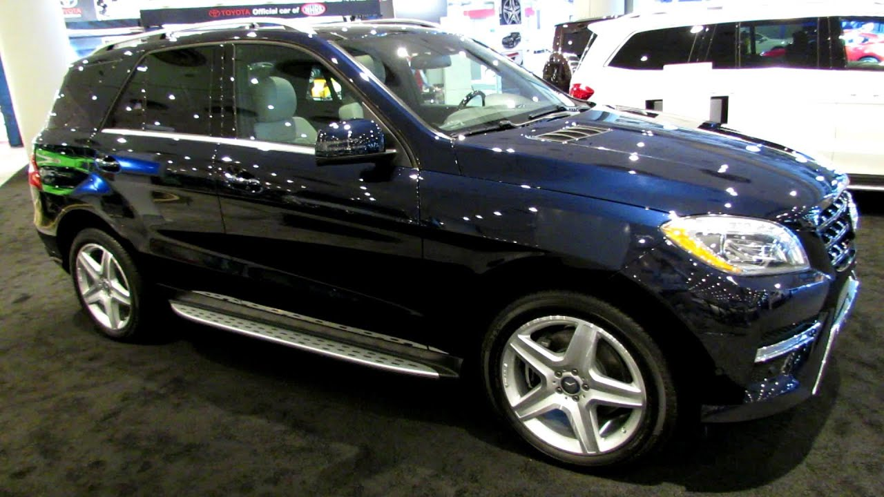 2014 Mercedes Benz M Class ML350 4Matic   Exterior And Interior Walkaround    2014 New York Auto Show   YouTube
