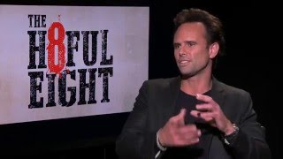 Walton Goggins dishes 'The Hateful Eight' and playing Sheriff Chris Mannix