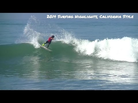 Professional Surfing California 2014 Highlights