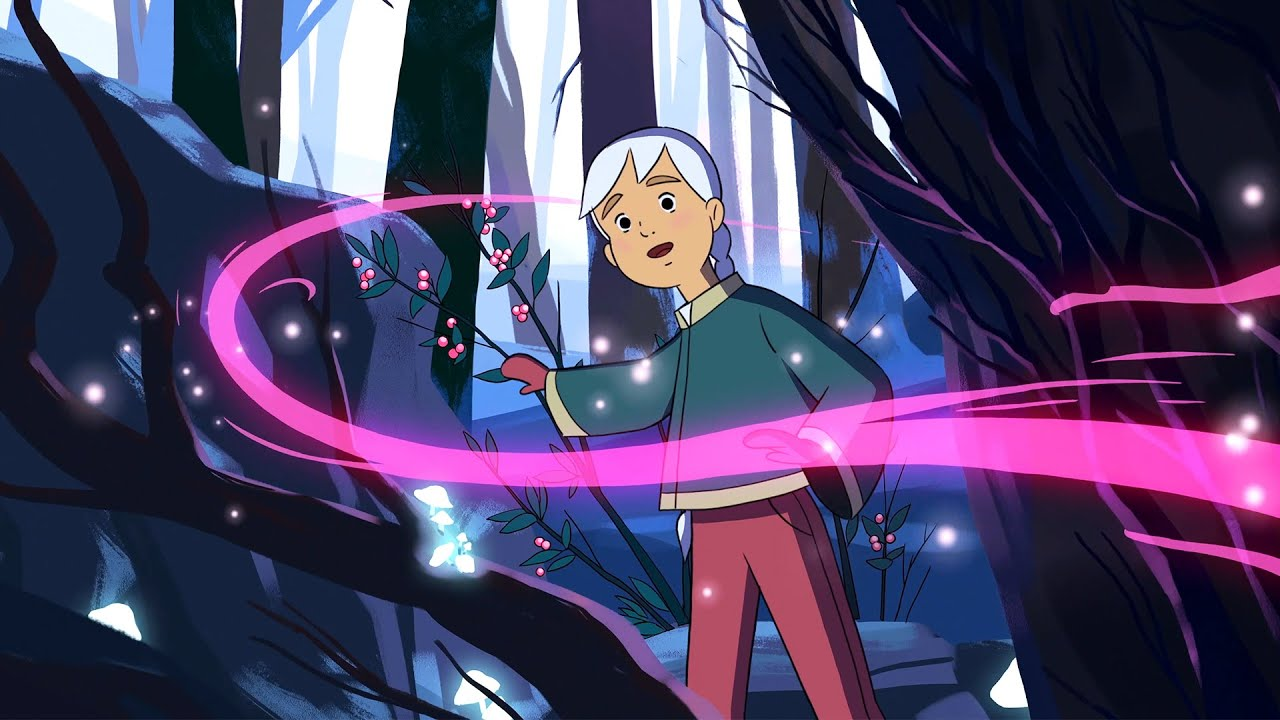 Download The Snow Fairy   An animation by Lush