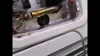 Rv Living  replacing an anode rod on hot water tank