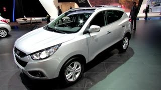 2013 Hyundai ix35 CRDi Premium Limited AWD Exterior and Interior Walkaround 2012 Paris Auto Show