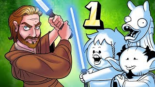 Oney Plays Star Wars: Obi-Wan - EP 1 - Wunky is Hilarious
