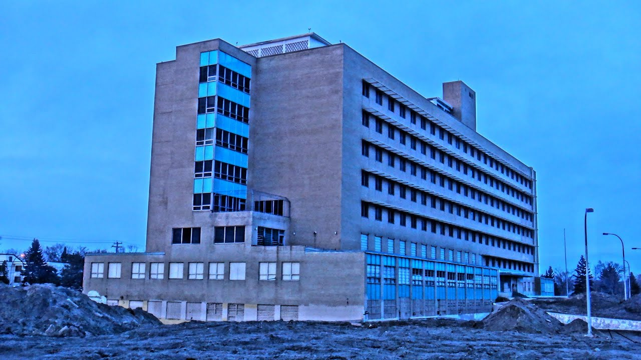 Abandoned Charles Camsell Hospital Yegventures Youtube