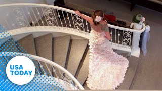 Toilet paper wedding dress will leave you speechless thumbnail
