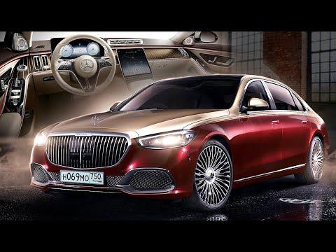 Новый Майбах 2021 - самый дорогой Мерседес! Внутри космос просто #ДорогоБогато Mercedes Maybach