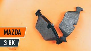 Як поміняти задні гальмівні диски і гальмівні колодки на MAZDA 3 BK ІНСТРУКЦІЯ | AUTODOC