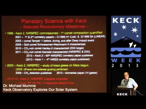 Keck Week: #7 - Keck Observatory Explores our Solar System