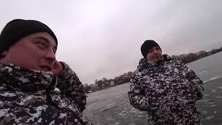 Видео ловля окуня в глухозимье