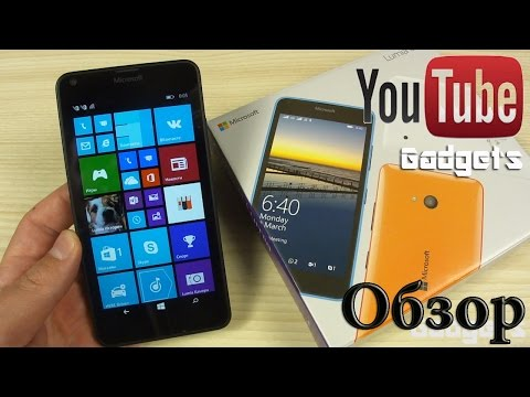 Microsoft Lumia 640 Обзор смартфона+тест игр