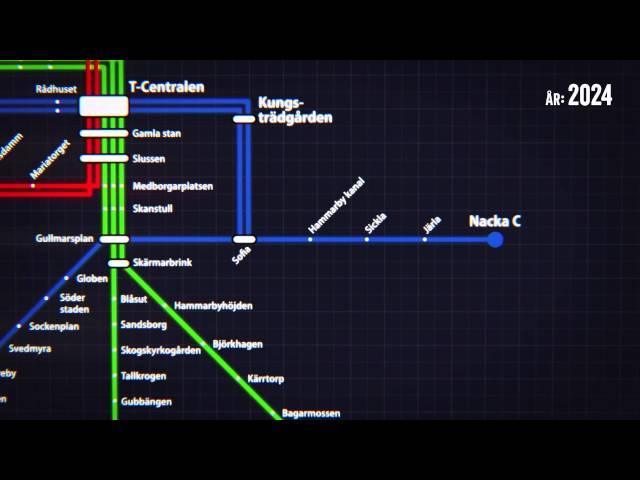 Orange linje – Stockholm behöver mer tunnelbana, inte fler motorvägar
