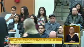 23ª Sessão Ordinária 2018