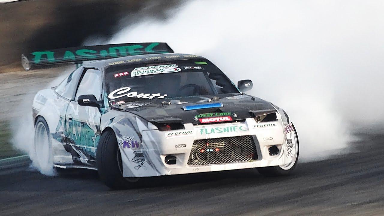 Cool Cars Drifting Wallpapers Hd 800hp Nissan 200sx S13 Drift On Board Francesco Conti