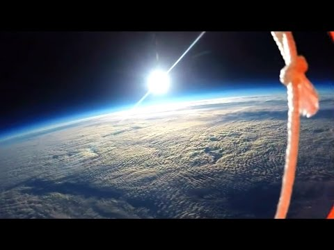 University of Leicester Students Film Curvature of the Earth