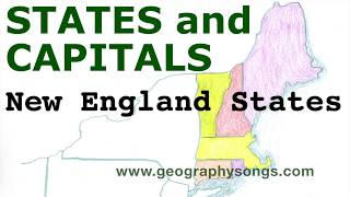 US States and Capitals, New England States