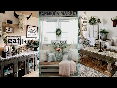 ❤DIY Rustic Farmhouse Style Chic Summer home decor Ideas❤ | Summer Home decor| Flamingo Mango