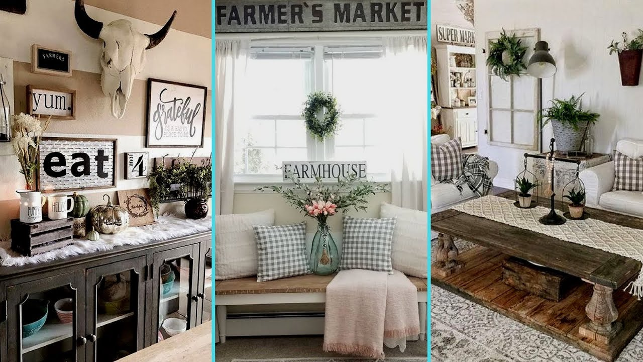 Diy Rustic Farmhouse Style Wall Decor Ideas Home Decor Interior Design Flamingo Mango Youtube