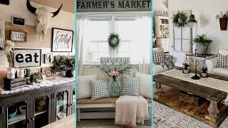 ❤DIY Rustic Farmhouse Style Chic Summer home decor Ideas❤ | Summer Home decor| Flamingo Mango