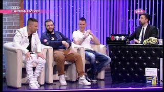 """Cvija, Relja i Coby o pesmi """"Crni sin"""" - Ami G Show S08"""