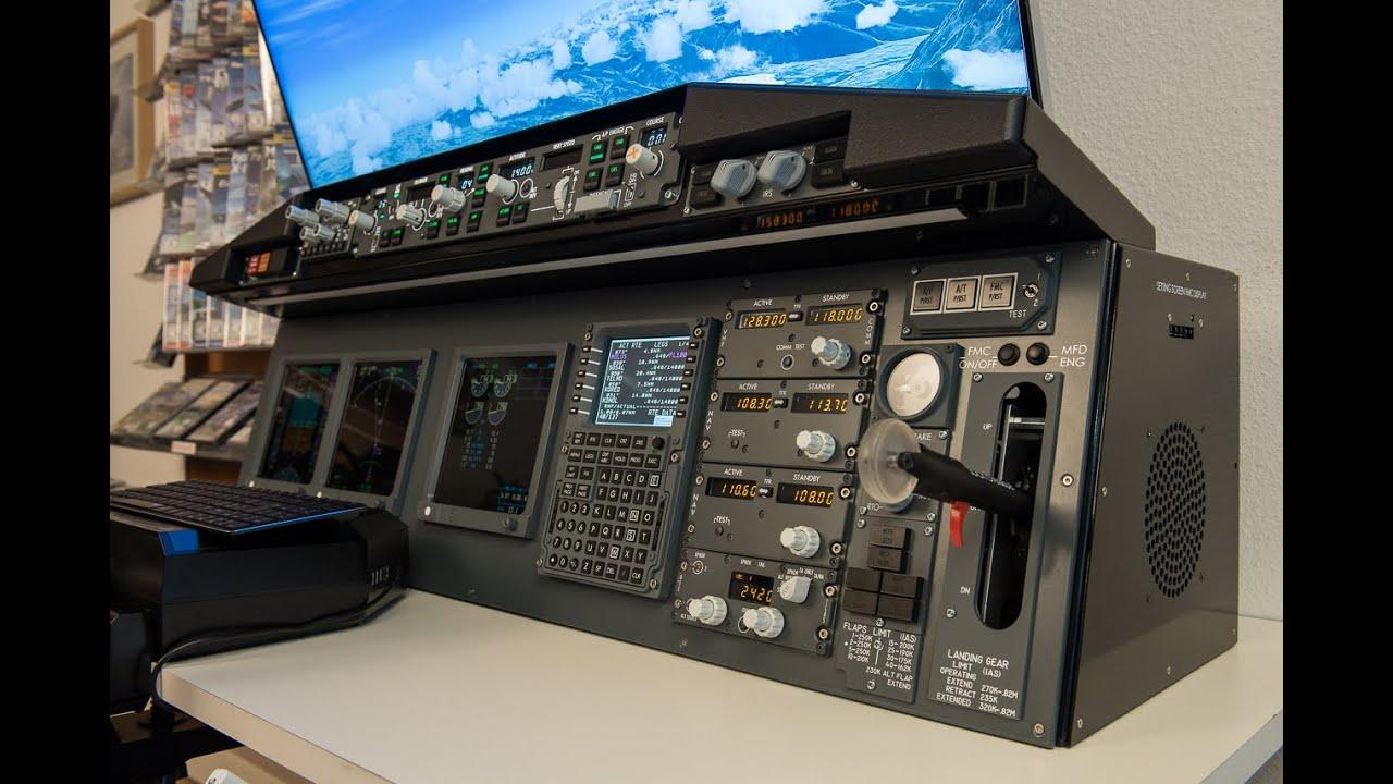 Panel 737 Desktop with Overhead 737 V2 / PMDG 737- 800/900 NGX SimAvionics