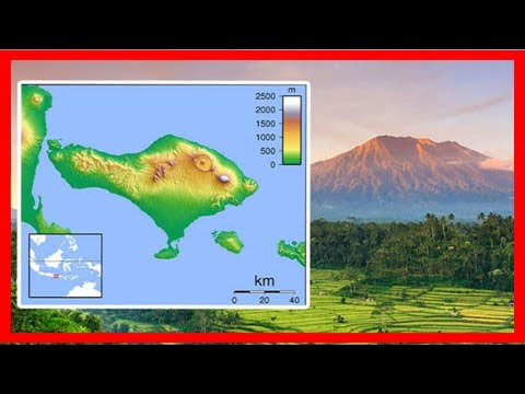 Breaking News | Mount agung map: where is the bali volcano threatening to erupt on the indonesian i
