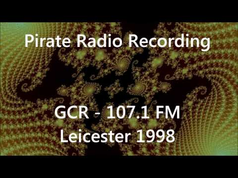 DJ Jago Bear on GCR FM (Leicester) in 1998 - Pirate Radio