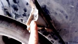 митсубиси лансер 9 ремонт крыла