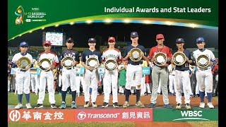 Closing Ceremony - IV WBSC U-12 Baseball World Cup 2017 Tainan