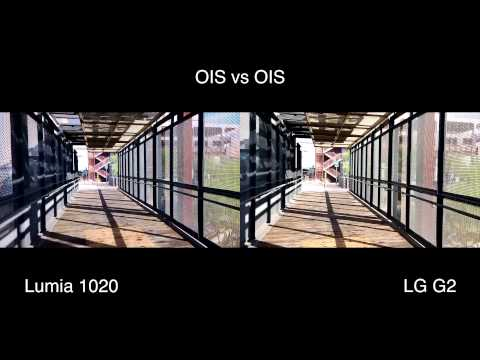 OIS and EIS Video Smartphone Comparison in Camera Bracket