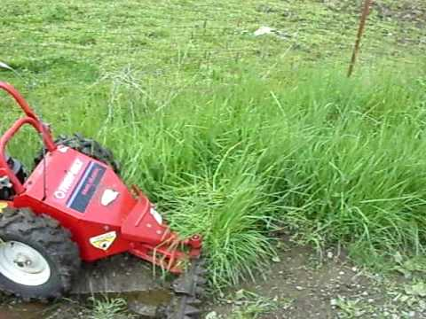 Sickle Bar Mower in action