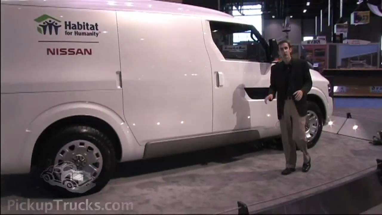 Nissan Nv2500 Commercial Van Concept At The 2009 Ntea Work Truck Show