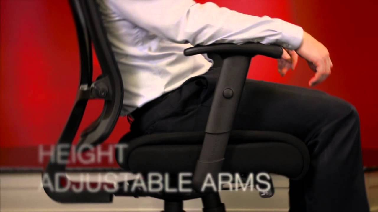 lorell 40204 fabric seat mesh mid back chair hd youtube