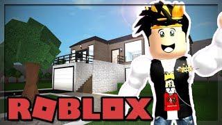 MY BLOXBURG ROLEPLAY HOME SPEED BUILD! (Roblox)