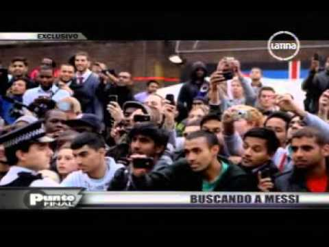 Al encuentro de Messi.