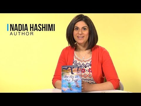 Nadia Hashimi Speaks About Her Inspiration For THE SKY AT OUR FEET 👣