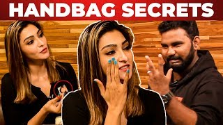 Akshara Reddy's Handbag Secrets Revealed By VJ Ashiq    What's Inside the Handbag?