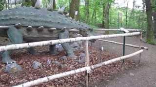 Dino and George 4.5.2013 Dino Park Vyskov
