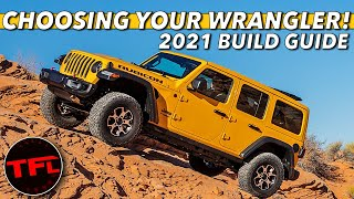 Watch THIS Before Buying A 2021 Jeep Wrangler: You Have More Options Than Ever Before!